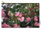 Pink Oleanders Carry-all Pouch
