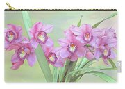 Pink Orchid Photo Sketch Carry-all Pouch