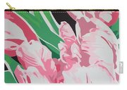 Pink Parrots Carry-all Pouch