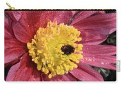 Pink Pasque Flower Carry-all Pouch