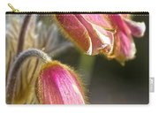 Pink Pasqueflower Carry-all Pouch