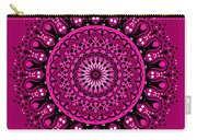 Pink Passion No. 3 Mandala Carry-all Pouch