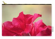 Pink Passion Petunia Carry-all Pouch