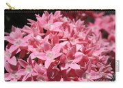 Pink Pentas Beauties Carry-all Pouch