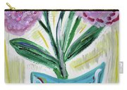 Pink Peonies-gray Table Carry-all Pouch