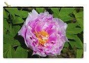 Pink Peony Blossom Carry-all Pouch