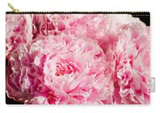 Pink Peony Bouquet Carry-all Pouch
