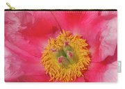 Pink Peony Flower Fine Art  Carry-all Pouch