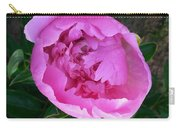 Pink Peoony In Bloom Carry-all Pouch