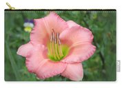 Pink Petals - Chorus Line Daylily Carry-all Pouch