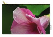 Pink Petals In The Rain Carry-all Pouch