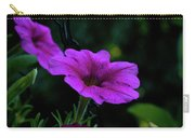 Pink Petunia, Dusk, Hunter Hill, Hagerstown, Maryland, July 25,  Carry-all Pouch
