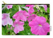 Pink Petunia Flower 11 Carry-all Pouch
