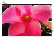 Pink Pinwheel Carry-all Pouch