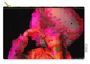 Pink Pixelated Princess Carry-all Pouch