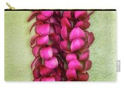 Pink Plumeria Lei Carry-all Pouch