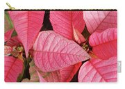 Pink Poinsettias Carry-all Pouch