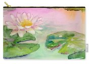Pink Pond Carry-all Pouch