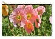 Pink Poppies 2 Carry-all Pouch