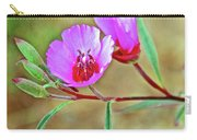 Pink Poppies In Rancho Santa Ana Botanic Garden In Claremont-california Carry-all Pouch