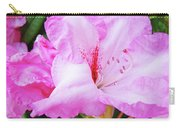 Pink Rhododendron Art Print Floral Canvas Rhodies Baslee Troutman Carry-all Pouch