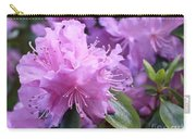 Light Purple Rhododendron With Leaves Carry-all Pouch