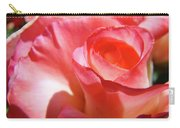 Pink Rose Art Prints Floral Summer Rose Flower Baslee Troutman Carry-all Pouch