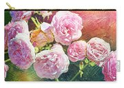 Pink Rose Artwork Carry-all Pouch