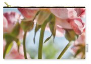 Pink Rose Back Light Carry-all Pouch