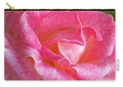 Pink Rose Close Up Carry-all Pouch