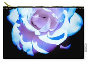 Pink Rose Has The Blues Carry-all Pouch