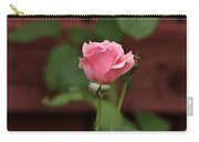 Pink Rose In The Garden Carry-all Pouch