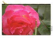 Pink Rose Carry-all Pouch by Kelly Hazel