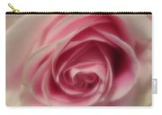 Pink Rose Macro Abstract Carry-all Pouch