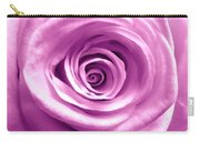 Pink Rose Macro Hdr Carry-all Pouch