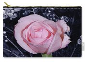 Pink Rose Of Imperfection Carry-all Pouch