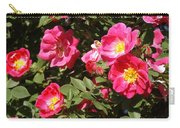Pink Rose Of Sharon Blooms      Spring     Indiana Carry-all Pouch