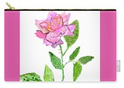 Pink Rose, Painting Carry-all Pouch