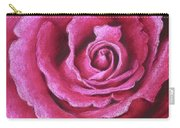 Pink Rose Pastel Painting Carry-all Pouch