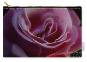 Pink Rose Portrait Carry-all Pouch