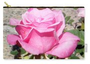 Pink Rose... Roses Carry-all Pouch
