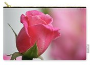 Pink Rosebud 3 Carry-all Pouch