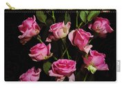 Pink Roses 1 Carry-all Pouch