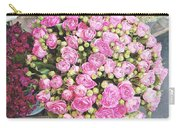 Pink Roses Photograph Carry-all Pouch