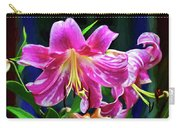 Pink Rules - Impasto Carry-all Pouch