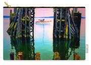 Pink Skies In Port Townsend Carry-all Pouch