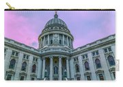 Pink Sky On The Square Carry-all Pouch