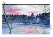 Pink Sky Reflections Carry-all Pouch
