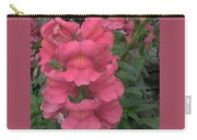 Pink Snapdragons Carry-all Pouch