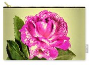 Pink Speckled Rose 1 Carry-all Pouch